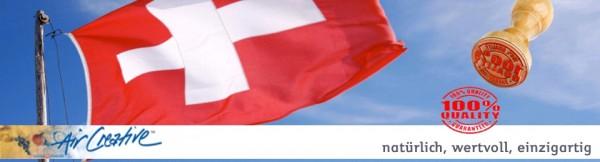 Swiss made banner