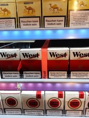 Tobacco brand line